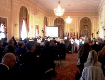 Hundreds of officials from the US and Canada attended the Great Lakes Commission in Cleveland (pic by Karen Schaefer)