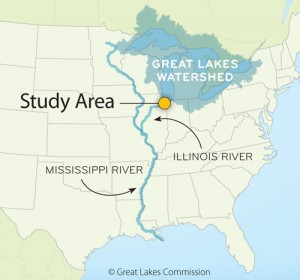 The Great Lakes Commission and the Great Lakes and St. Lawrence Cities Initiative studied engineering options to separate the Great Lakes from the Mississippi River system.Credit Great Lakes Commission