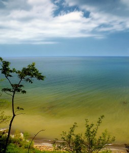 Erie Bluffs State Park, Erie County, Pennsylvania, USA.