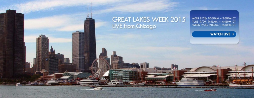 Great Lakes Week 2015 Live from Chicago - image of Navy Pier - Photo by enjamin D. Esham / Wikimedia Commons