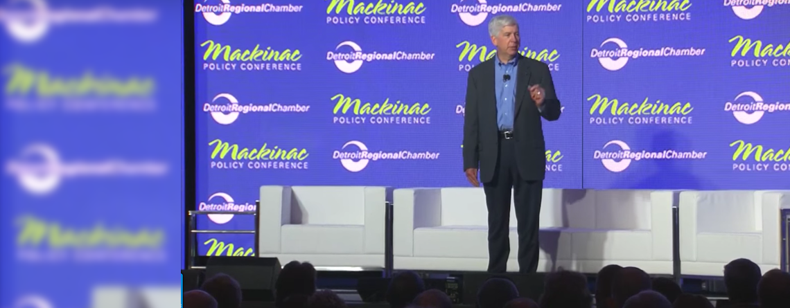 Gov Snyder at the Mackinac Policy Conference