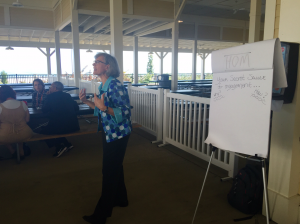 """Diane Russell, President, Institute for Conservation Leadership. """"What is your secret sauce for engagement?"""""""