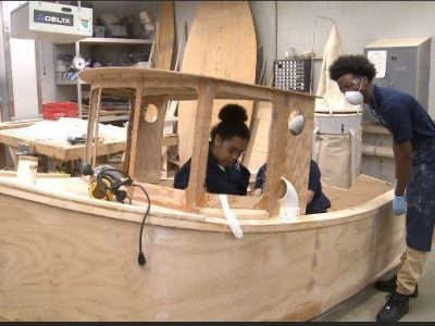 Maritime School Teaches Great Lakes Skills