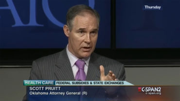 Pruitt image from C-SPAN
