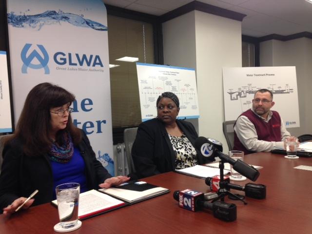 GLWA Meeting Sue McCormick, Cheryl Porter, Jeffrey Raymond