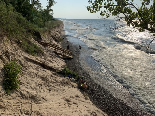 The Indiana Dunes National Lakeshore became a National Park in 2019. Photo by Sandra Svoboda.
