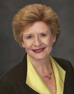 Photo courtesy of the office of Senator Debbie Stabenow via Wikimedia