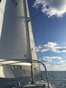 Sailing on Lake St. Clair