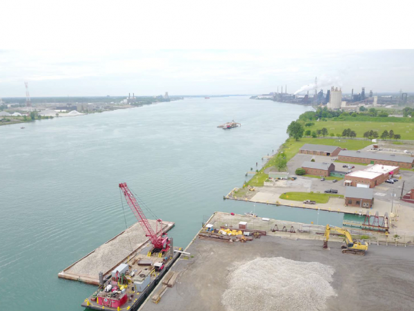 Photo by Great Lakes Dock & Materials via Michigan Sea Grant