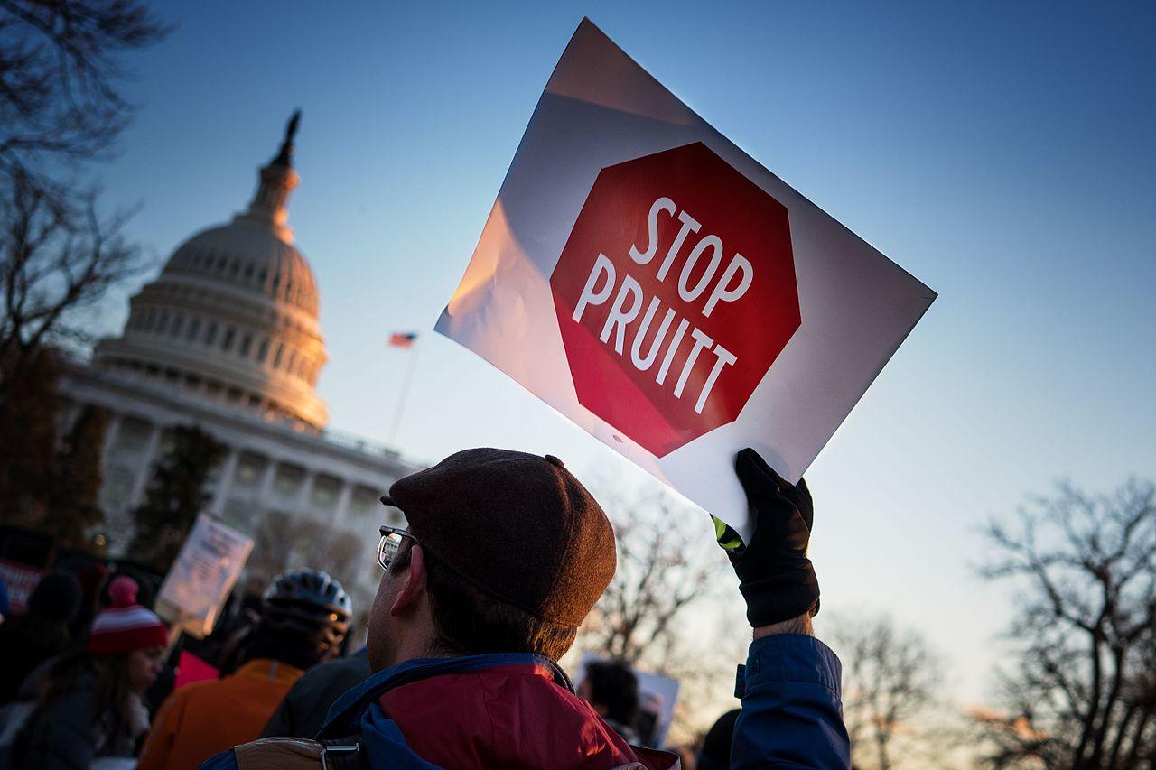 Stop_Pruitt,_Rally_To_Oppose_EPA_Nominee_Scott_Pruitt