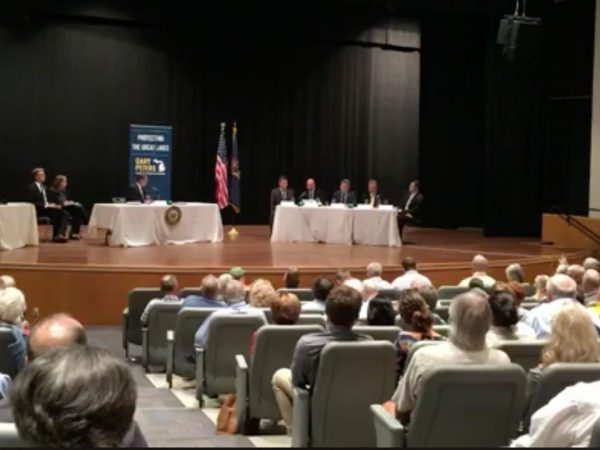 Line 5 hearing with Sen. Gary Peters (MI-D)