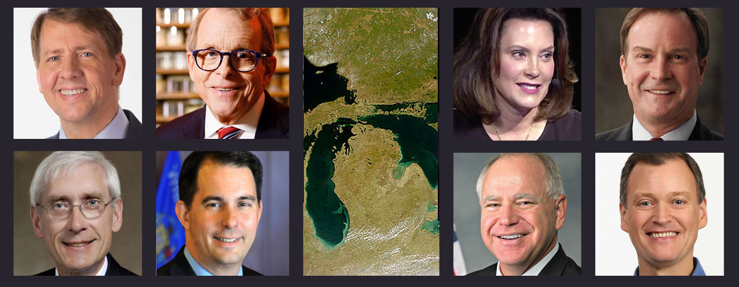 2018 Elections - Gubernatorial Candidates for the Great Lakes States