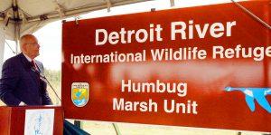 Photo by Detroit River International Wildlife Refuge via John Hartig