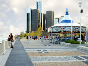 Photo by Detroit Riverfront Conservancy via John Hartig