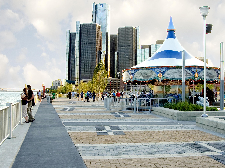 Photo by Detroit Riverfront Conservancy via John Hartig