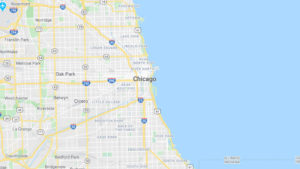Chicago waterfront map