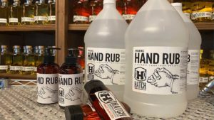Wisconsin distillery Hatch Distilling Co, has eased into re-opening. For now, staff is investing in a side hustle: hand-sanitizer production. Ep. 1015